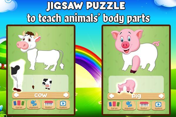 Farm Animals For Toddler - Kids Education Games Screenshots