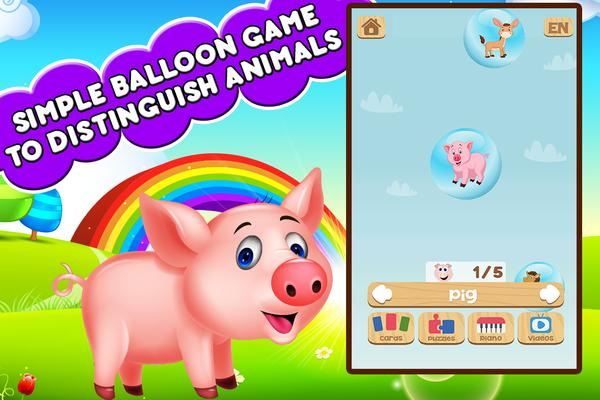 Farm Animals For Toddler - Kids Education Games Screenshots