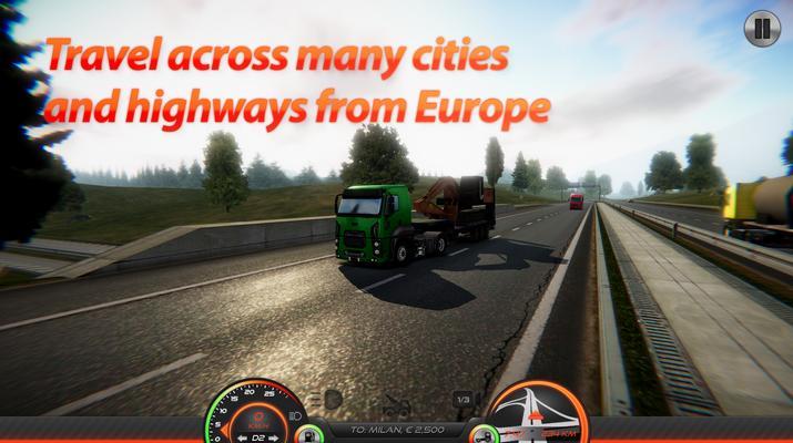 Truck Simulator: Europe 2 Screenshots