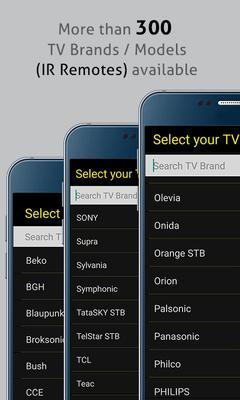 Universal TV Remote Control Screenshots