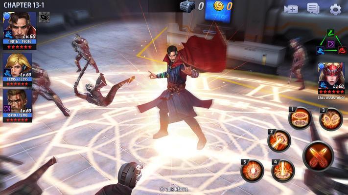 MARVEL Future Fight Screenshots
