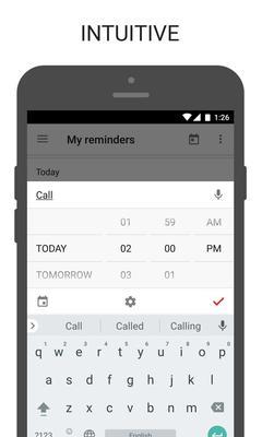 BZ Reminder Screenshots