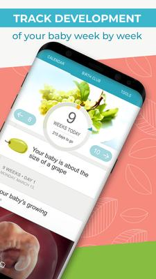 Pregnancy Tracker + Countdown to Baby Due Date Screenshots