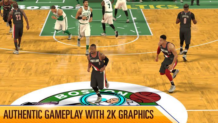 NBA 2K Mobile Screenshots