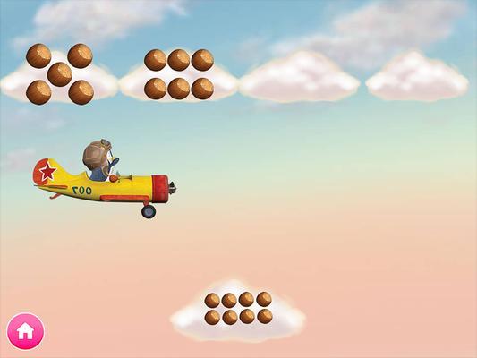 Masha and the Bear. Educational Games Screenshots
