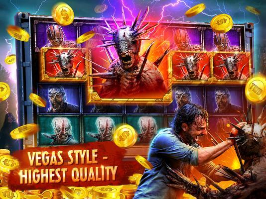 The Walking Dead: Free Casino Slots Screenshots