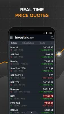 Investing.com: Stocks, Finance, Markets & News Screenshots