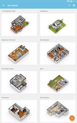 Floorplanner Screenshots