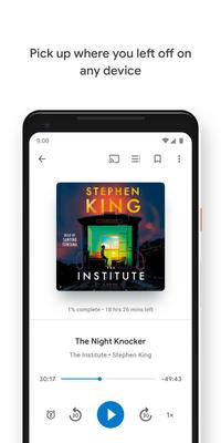 Google Play Books Screenshots
