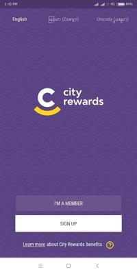 City Rewards Screenshots