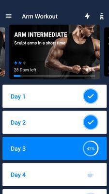 Arm Workout Screenshots