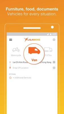 Lalamove Screenshots