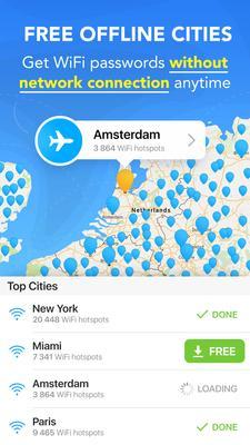 WiFi Map Screenshots