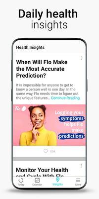 Period Tracker Flo, Ovulation Calendar & Pregnancy Screenshots