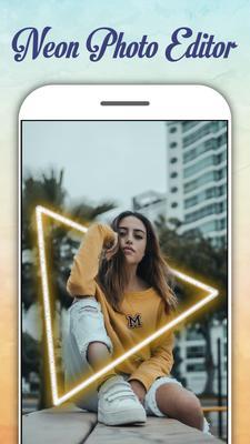Neon Photo Editor Screenshots