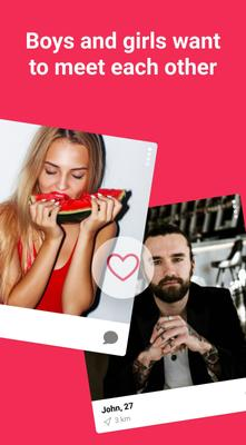 Meet, Chat & Date! Free dating app - Chocolate app Screenshots