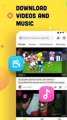 YouTube Downloader and MP3 Converter Snaptube Screenshots